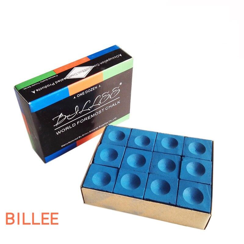 Non-Slip Billiards Chalk For Pool Cue Top Graded Quality Snooker Billiard Chalks