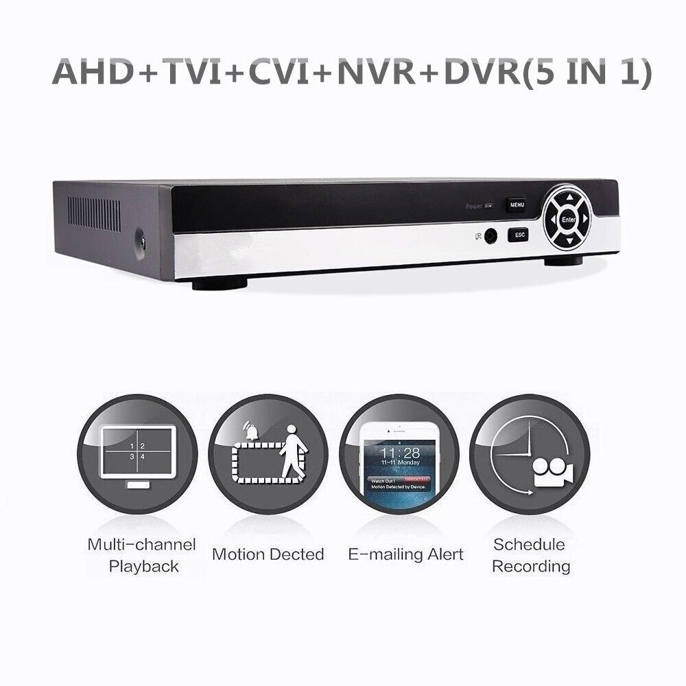 16ch Гибридный 1080N 5 в 1 AHD DVR (1080 P NVR + 1080N AHD + 960 h аналоговый + TVI + ХВН) CCTV цифровой диктофон HDMI Выход 2 sata hdd Post