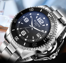 цены 2018 Luxury Brand Waterproof Military Sport Watches Men Silver Steel Digital Quartz Analog Watch Clock Relogios Masculinos