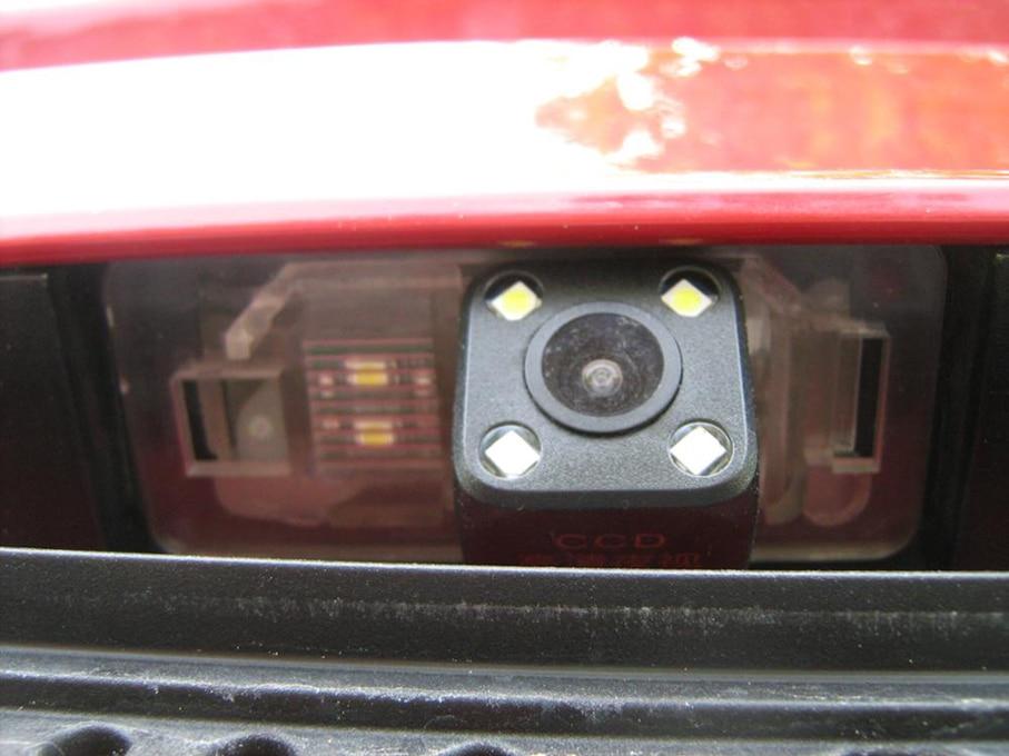 For BMW E46 E39 E90 E53 X1 X5 X6 4 LED Rearview Reverse Night Vision Camera