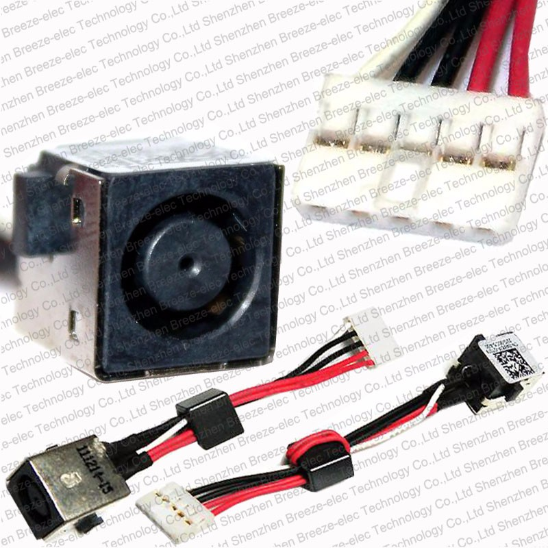 NEW for DELL INSPIRON 15R 5520 7520 0WX67P WX67P HARNESS DC POWER ...