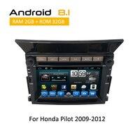 2 DIN CAR Navigation auto audio car stereo dvd player multimedia Bluetooth for Honda pilot with Car Sat nav system DVD Player