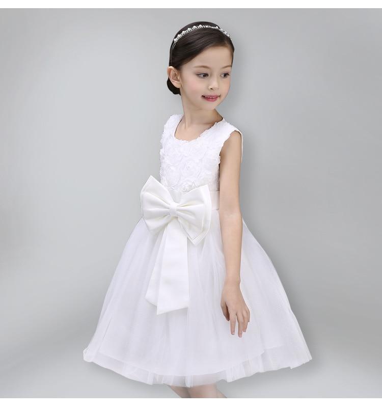 Girls Dress Children Clothing Princess Summer Wedding Party Girls - Ubrania dziecięce - Zdjęcie 2