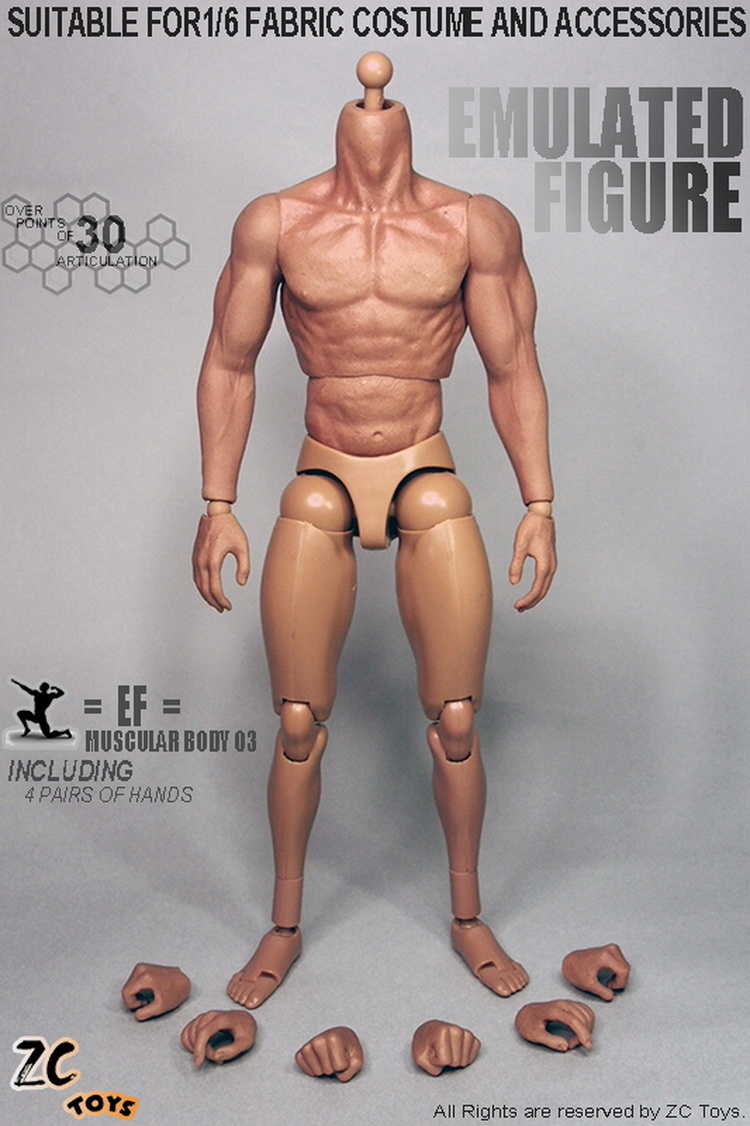 ФОТО 1/ 6 scale Action figure doll muscle body,figure doll accessories doll body,Semi-finished Product