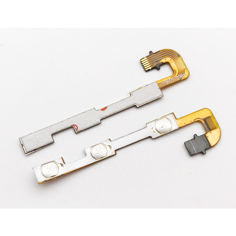 Original New For Huawei Y6Pro TIT-U02 Y6 Pro TIT-AL00 /Honor 4C Pro Volume Flex Cable Power on and off button Flex Cable image