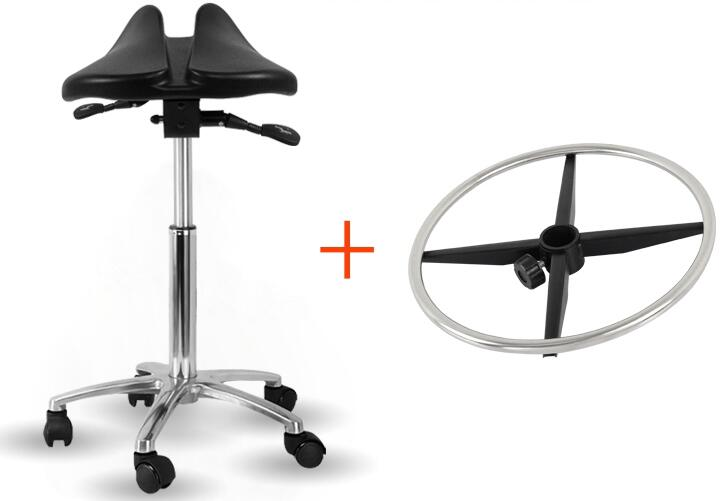 Multi Adjuster Ergonomic Swing Saddle Seat Multi functional Back Posture Stool with Tilting Seat Saddle Chair For Dental Office(China)