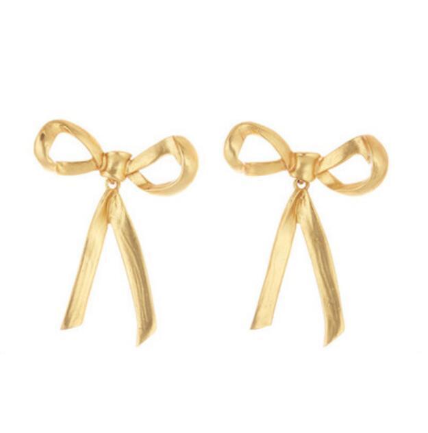 CSxjd Bow Earrings Vintage...