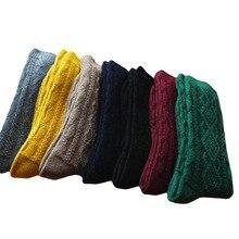Korean Fashion Thick Wool Loose Socks Hosiery Women Winter Warm Fluffy Terry Girls Thermal Sock Lot Wholesale 10 Pairs Christmas