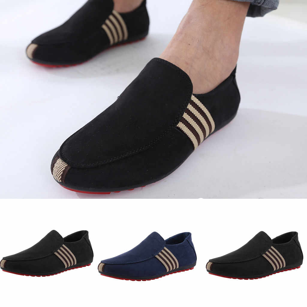 Fashion Men's Wild Canvas Breathable Casual Single Shoes Flat Peas Shoes sport shoes men casual shoes men sneakers