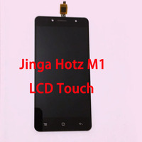 RYKKZ New Test Original LCD For Jinga Hotz M1 LCD Display and Touch Screen Digitizer Assembly Replacement with tools