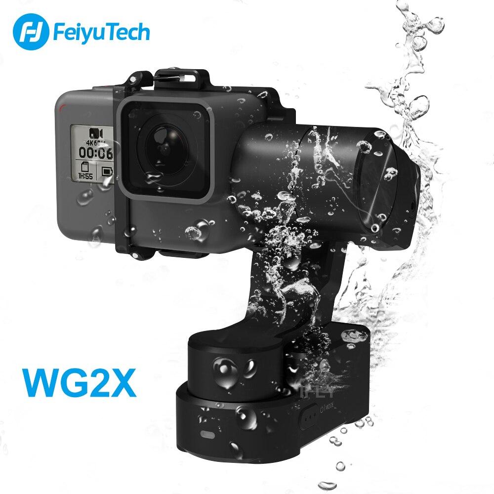 Feiyu Tech WG2X WG2 Waterproof 3 Axis Gopro Gimbal Wearable Stablizer for Gopro Hero7/6/5 Xiaomi Yi 4K SJCAM Action Camera