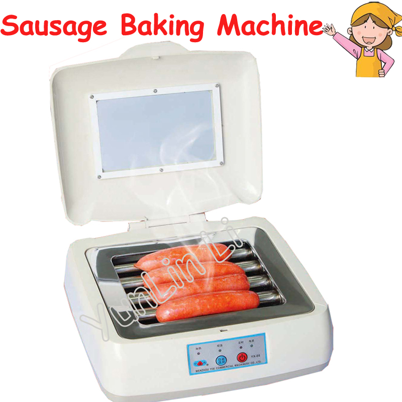 Mini Sausage Baking Machine Electric Rolling Hot-Dog Grill Hot Dog Household Sausage Machine YX05 spacemutts the sausage dog of doom