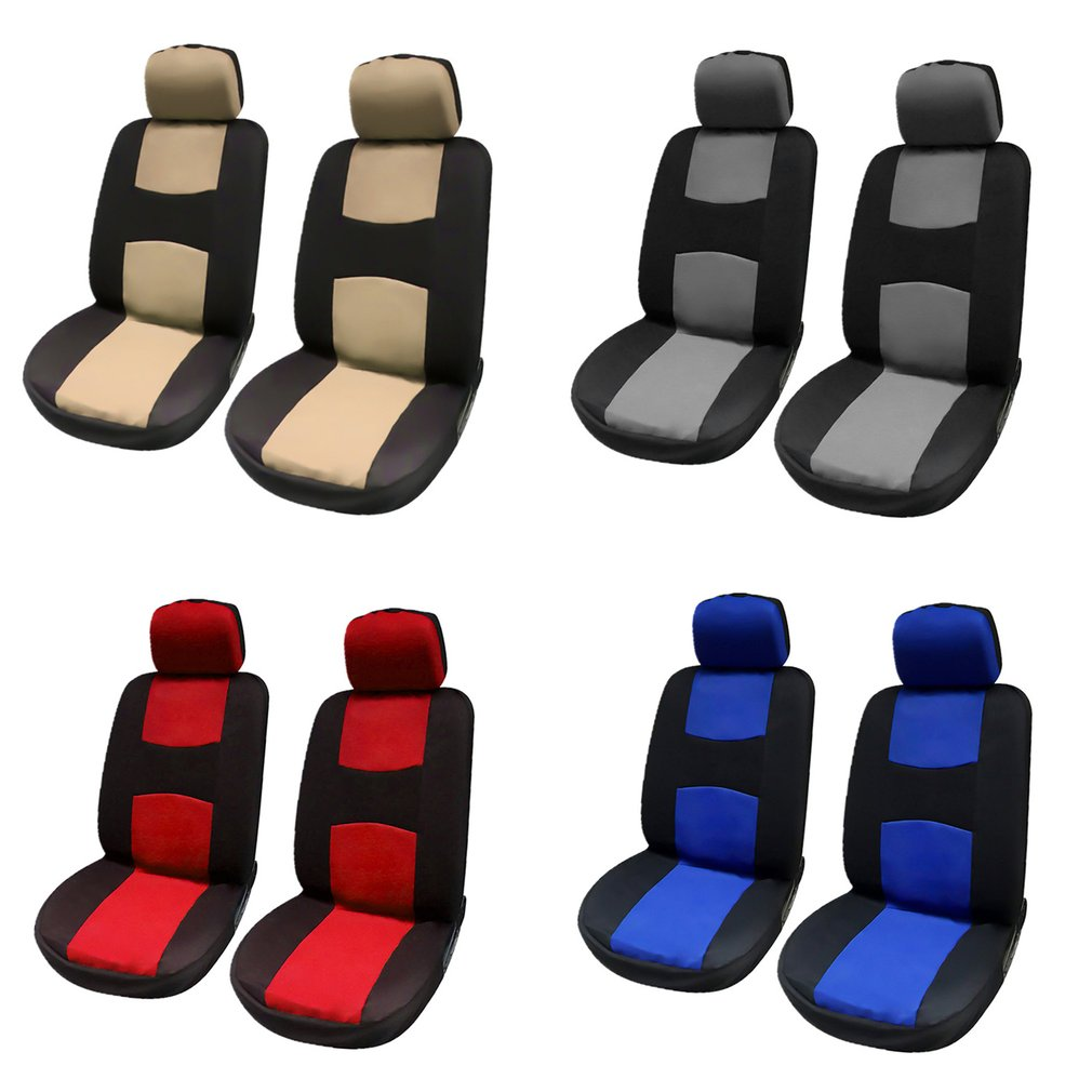 New Style Breathable Front Rear Universal Car Seat Covers Luxury Cute Auto Car Seat Covers Vehicles Accessories Hot in Automobiles Seat Covers from Automobiles Motorcycles