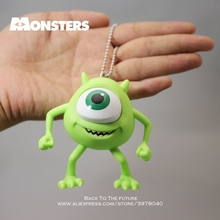 Disney Monsters University Mike Wazowski Mr Q 8.5cm Action Figure Anime Mini Decoration PVC Collection Figurine Toy model gift