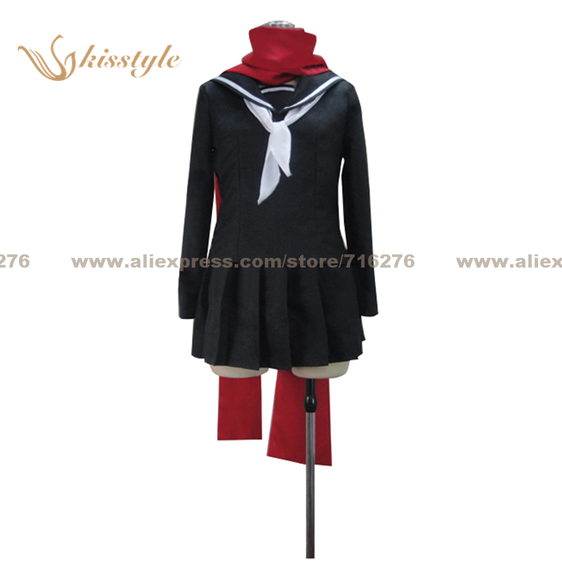 Kisstyle mode Kagerou projet Ayano Tateyama uniforme COS vêtements Cosplay Costume, personnalisé accepté