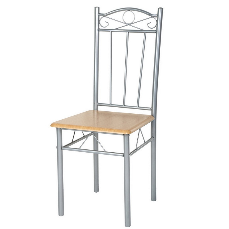 buy ancheer 4pcs set dining chair metal cafe chair