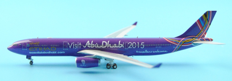 rare Fine Ph enix 1: 400 11125 Etihad Airways A330-300 A6-AFA 2015 Alloy aircraft model Collection model Holiday gifts fine phoenix 1 400 11198 thai airways b787 8 hs tqb alloy aircraft model collection model holiday gifts