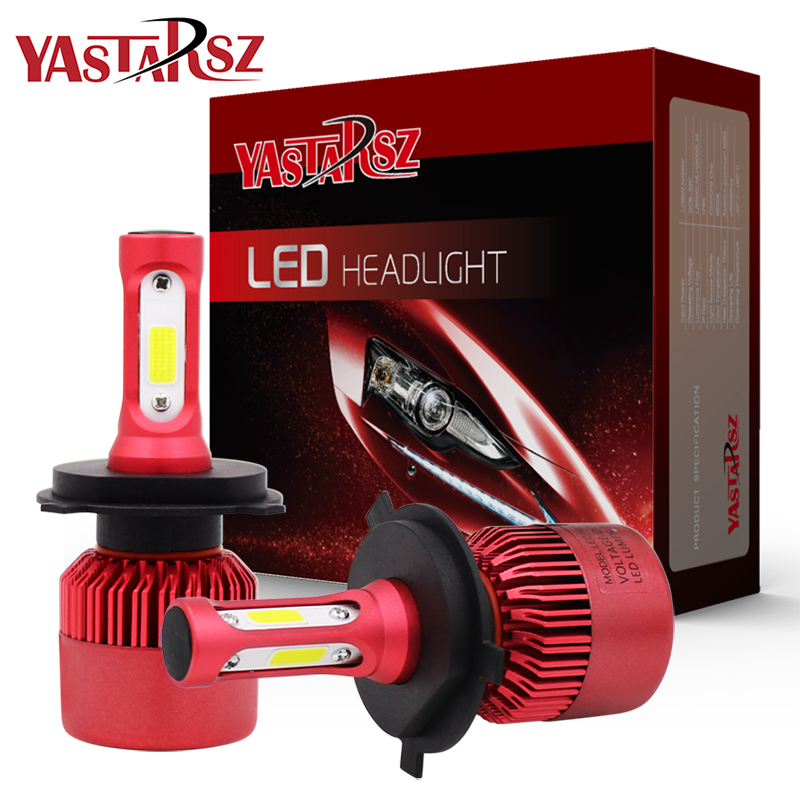 LED Car Headlight Bulb Canbus H7 100W 20000LM H1 H3 HB3 9005 HB4 9006 9012 12V Automobile headLamp <font><b>Conversion</b></font> Kit H4 Hi-Lo Beam