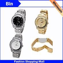 2016 relogio feminino marcas original famosas Paidu de luxo dourado crystal quartz wristwatch steel fashion watch clock kors