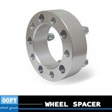 1 пара/автомобиль, алюминиевые колеса spacer адаптер концентратор фланец 6-114.3 6-139.7 35 мм для Nissan navara D40