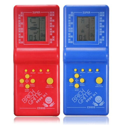 2020 Classic Childhood Tetris Hand held 2.7'' LCD Electronic Game Toys Pocket Game Console Handheld Game Players