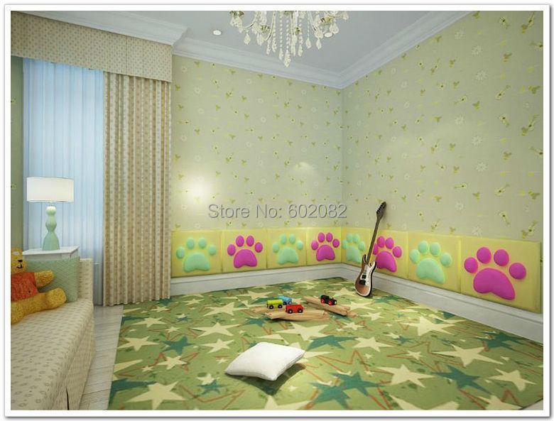 Neue Artikel 10 Stcke Kinder Leder Akustikplatten TVRoom Schlafzimmer Wohnzimmer Tagungsraum Sofa Hintergrund Forwall 50
