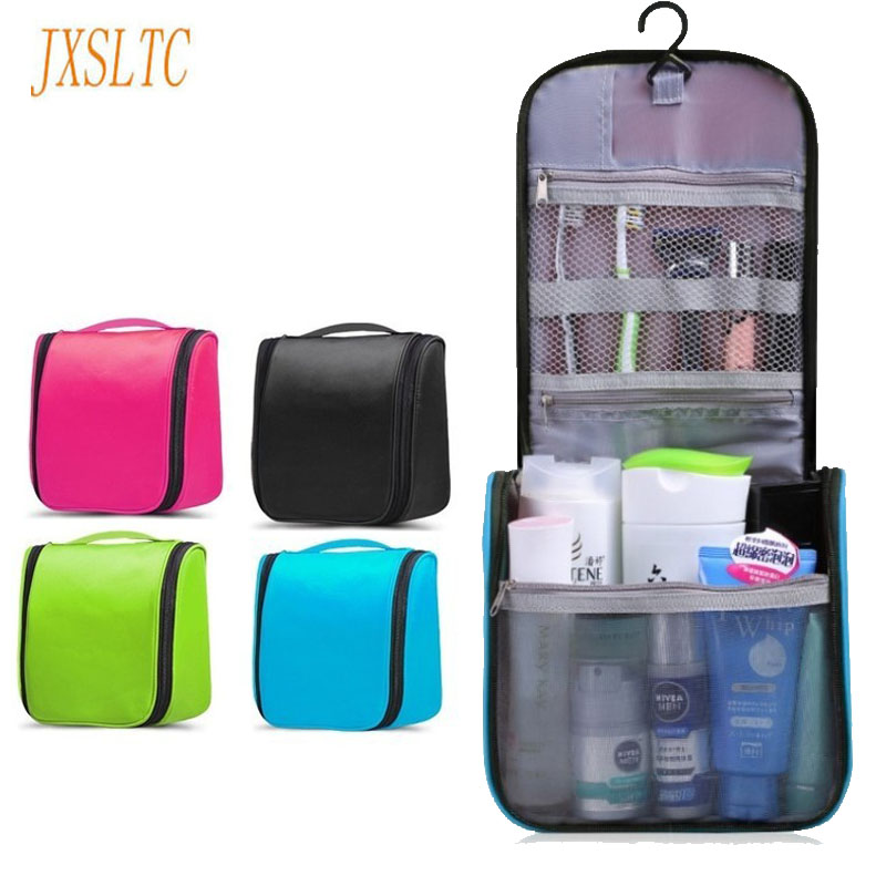 JXSLTC Brand Travel Cosmetic Bag Personal Care Box Travel Health Beautician makeup Organizer Waterproof Hanging toilet Wash Bag