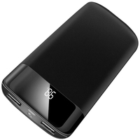 Quick LCD 20000mah Power Bank External Battery Charge Dual USB Powerbank Portable Mobile Phone Charger For