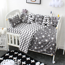 Komplet pościeli dziecięcej litera na zamówienie zderzak poduszka dekoracja do pokoju dziecięcego czystej bawełny dla dzieci łóżeczko zestaw łóżko zestaw dla dzieci