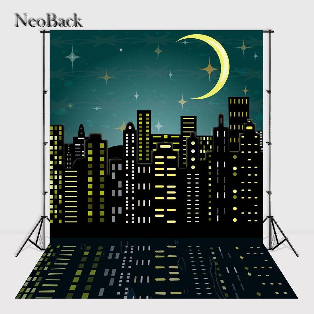 NeoBack mince vinyle tissu nouveau-né bébé photographie toile de fond enfants enfants décors impression Studio Photo arrière-plans A2202
