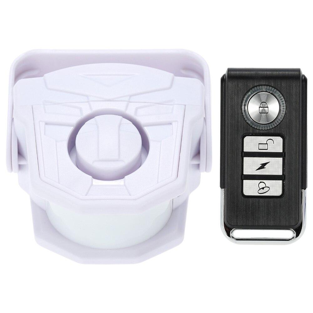 imágenes para Inteligente de Control Remoto Inalámbrico Timbre Inteligente Detector PIR Sensor de Alarma de Puerta de Seguridad de Detección de Movimiento