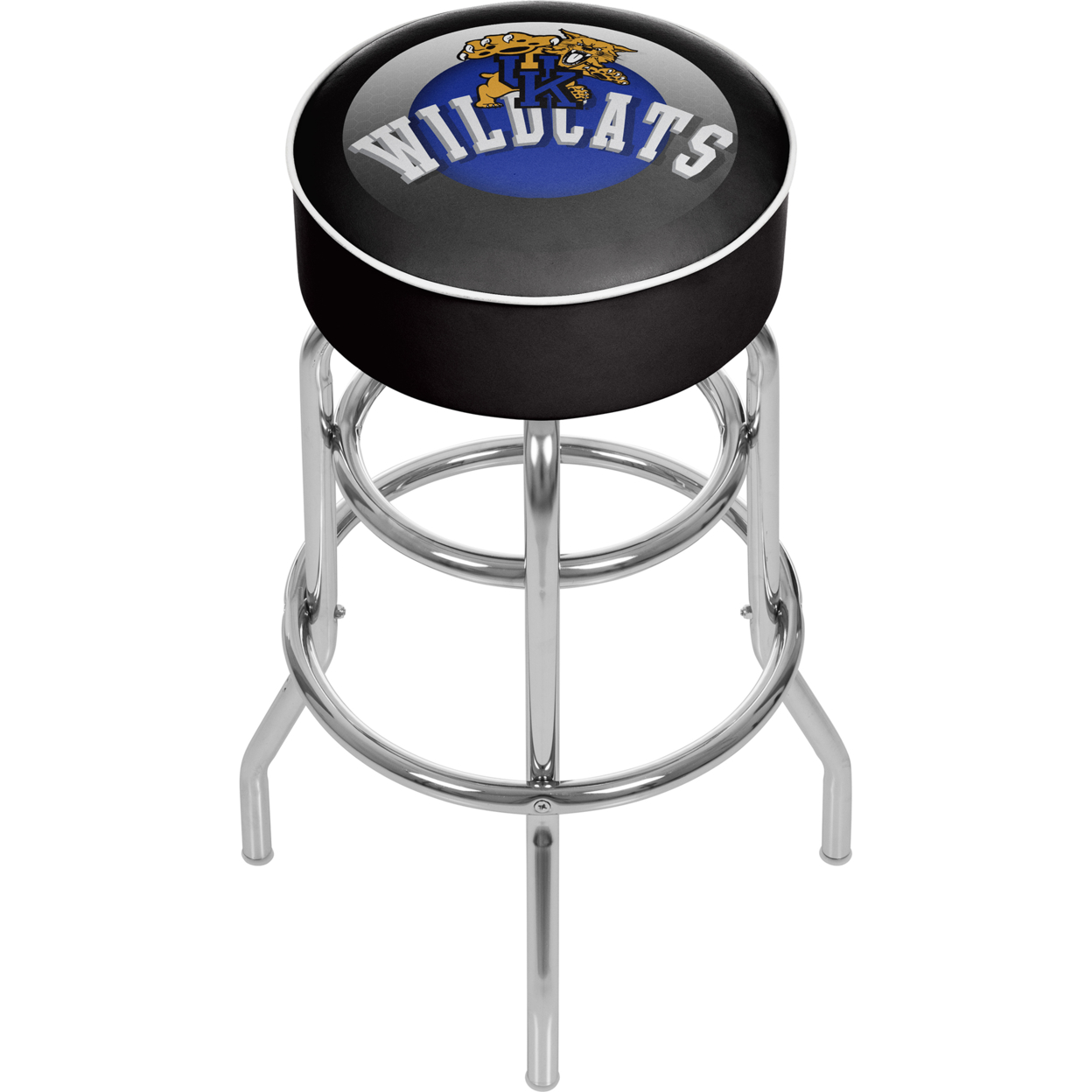 University of Kentucky Wildcats Honeycomb Padded Swivel Bar Stool 30 Inches High