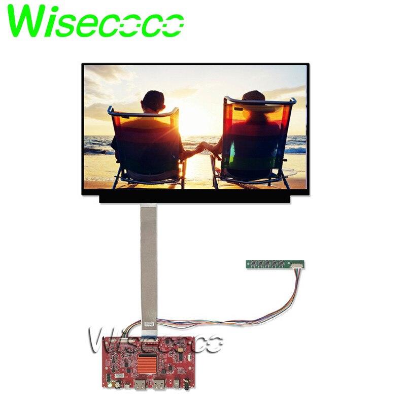 UHD 13.3 pouces 4 K lcd écran d'affichage IPS 3840x2160 HighColor Gamut WLED rétro-éclairage eDP 40 broches LCD panneau 2 hdmi carte mini dp usb