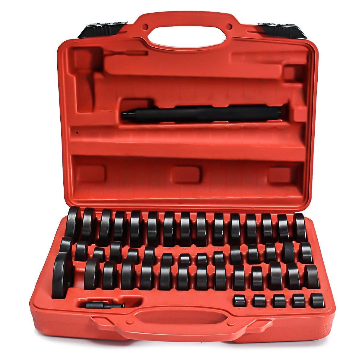 51 шт./компл. уплотнение подшипника драйвер Push набор выпрессовок инструмент для ремонта автомобиля из специальной углеродистой стали