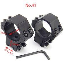 купить Free Shipping 11mm dovetail scope mount double screw 2pcs 30mm Diameter Tactical Rail Mount Hunting Accessories дешево