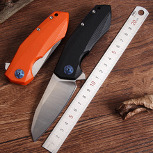 2016 New ZT0456 tactical folding knife ball bearing D2 blade G10 handle outdoor camping hunting survival pocket knife hand tools