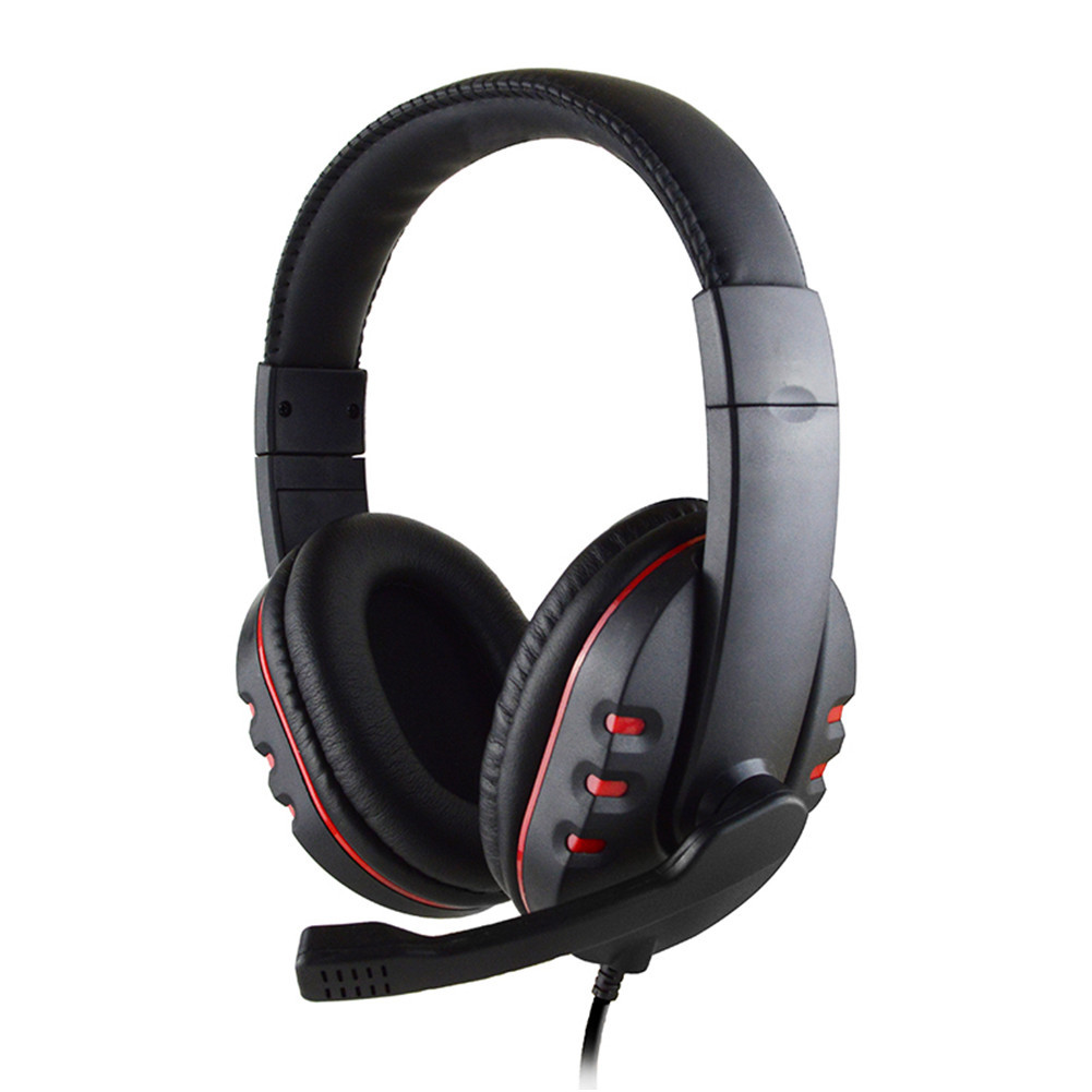 Nuevo cómodo estéreo con cable auriculares para juegos con buena calidad de sonido y estabilidad para PS4/MP3/PC/ordenador auriculares para Gamer