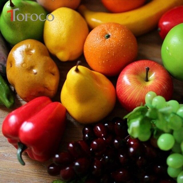 Tofoco 23 Stile Kunstliche Simulation Gefalschte Obst Gemuse Kuche