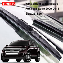 Tommia For Ford Edge Pcs Front Soft Rubber Windscreen Windshield Wiper Blades