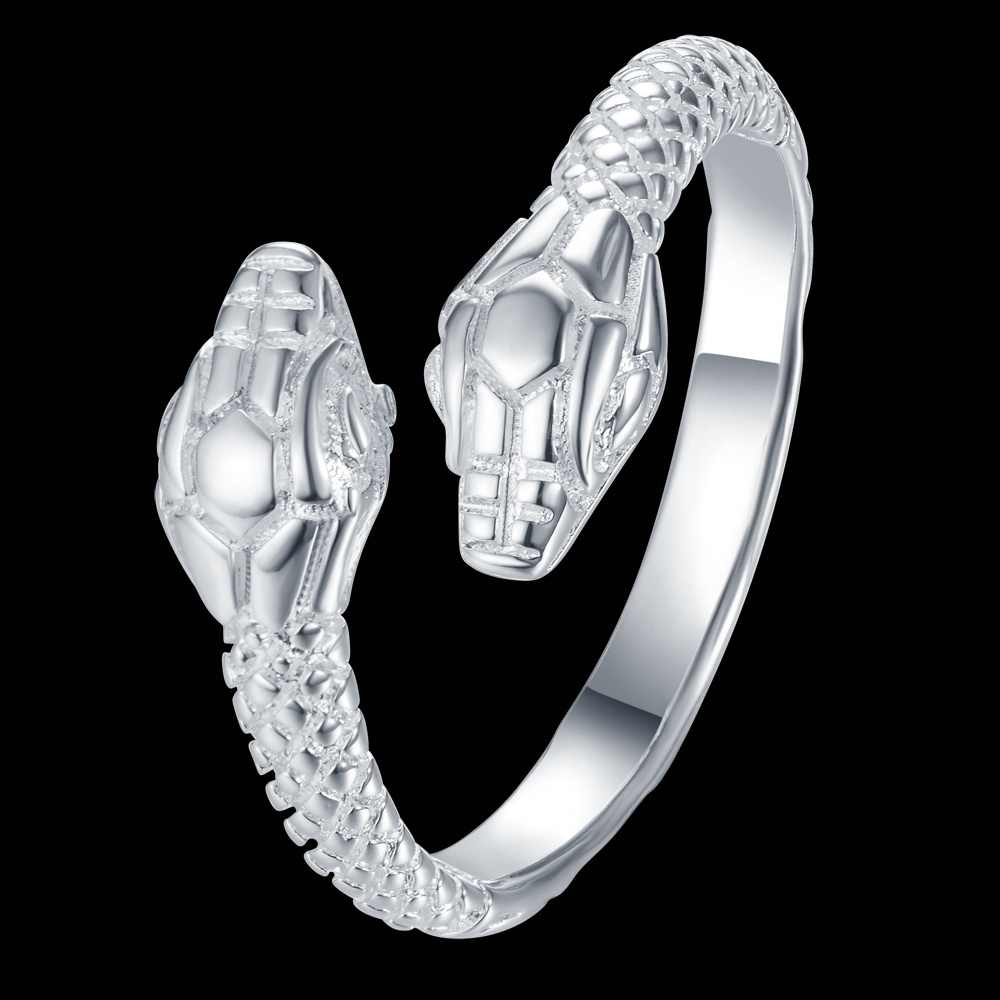 ปรับ cool snake ขายส่งเงิน 925 แหวนแฟชั่นเครื่องประดับแหวนผู้หญิง/MCAFQOMS CSDORTUS