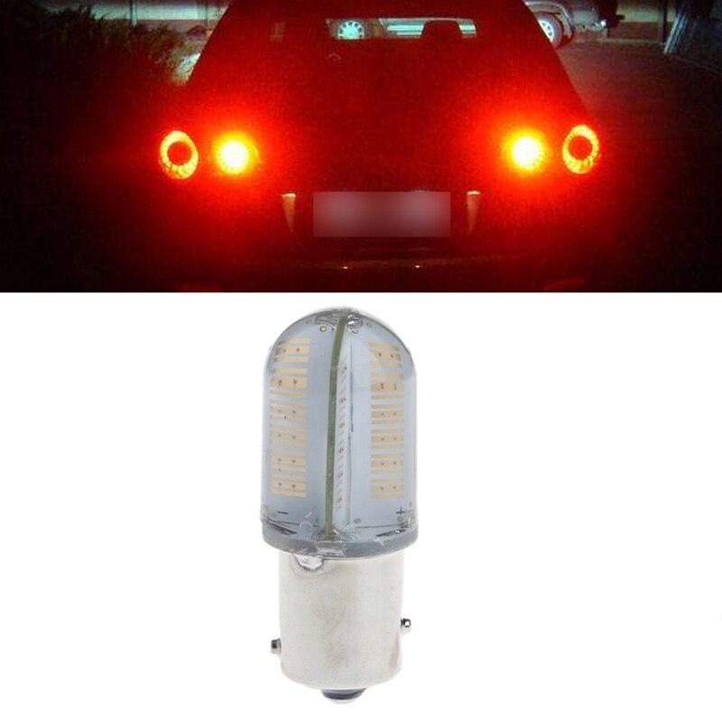 1Pc DC 10-30V 1156 P21/5W 8 COB LED Car Tail Bulb Brake Light Turning Signal Lamp 2pcs car lights super white silical 1156 ba9s cob led bulb car auto turning signal light lamp 0 5w 30lm dc12v