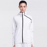 2019 New Women Sport Jacket Quick dry Long sleeved Running Gym Sweatshirt Cloth Fitness Zipper Jacket Yoga clothes chaquetas