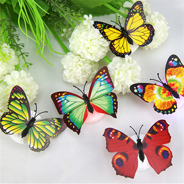 Butterfly LED Night Light Home Party