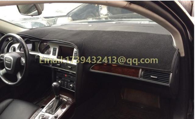 31 54 Dashmats Voiture Style Accessoires De Couverture De Tableau De Bord Pour Audi A6 C6 S6 Rs6 Avant Berline 2004 2005 2006 2007 2008 2009 2010