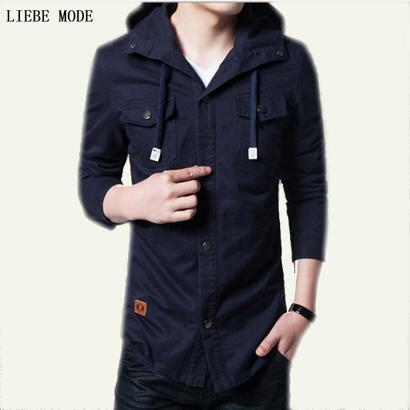 Popular Mens Hooded Pea Coats-Buy Cheap Mens Hooded Pea Coats lots ...