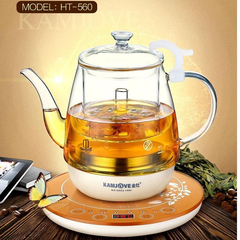 KAMJOVE HT-560 Intelligenc electric kettle machine automatic boiling teapot Multi functional health preserv glass pot