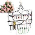 Hanging Jewelry Display Holder Iron Material Jewelry Display Rack Chain Decoration Showcase Jewelry Display Stand