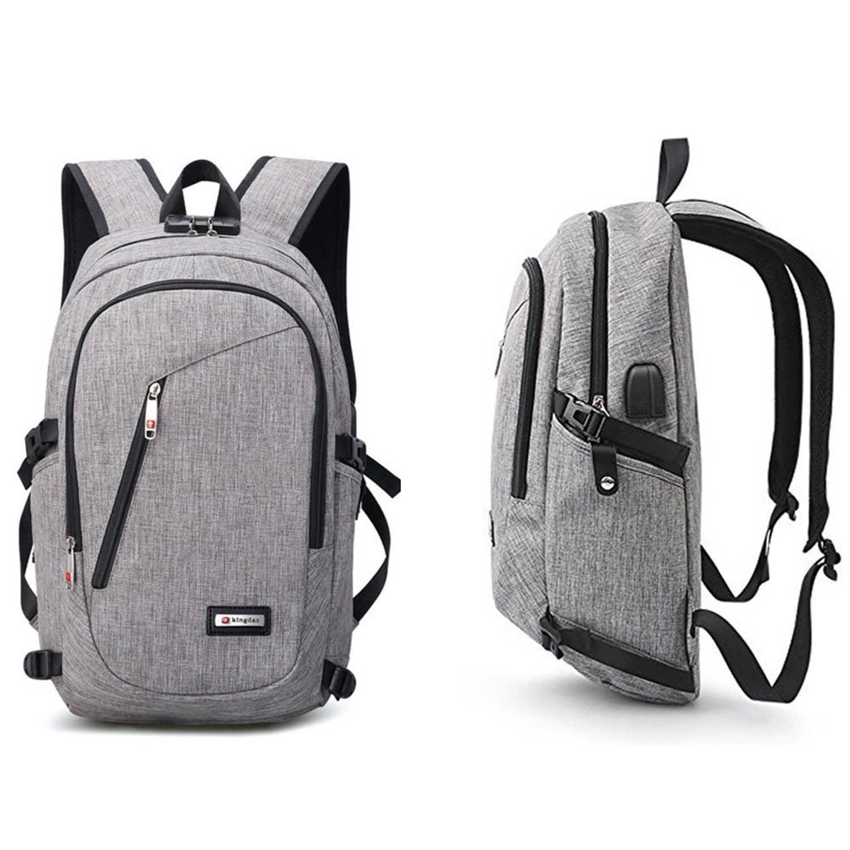 74b1c28806da ABDB New USB Charging Backpacks With Headphone Jack Business Laptop Men  Backpack Travel School College Bag