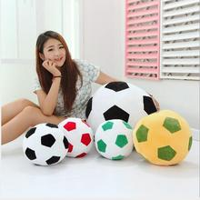 WYZHY Creative Cartoon Football Pillow Doll Ball Props Plush Toys Dolls Birthday Gifts  40CM