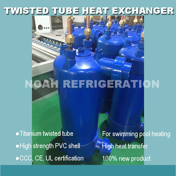 Free Shipping 17kw High Heat Transfer Twisted Tube Heat